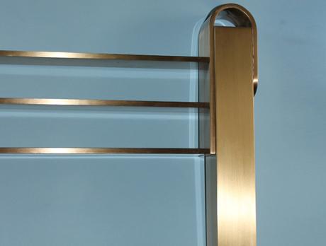 Restauro metalli sirio preziosi - Letto in ottone rovinato ...