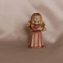 SP 061/1 C cm 7 h - Angiolettina in marmorina decorata a mano