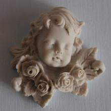 SP 001 cm 5,5x5,5 - Angelo rose in marmorina